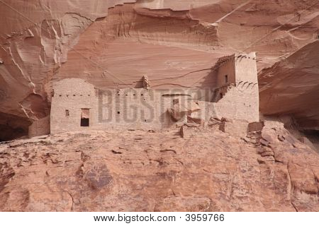 Ancient Ruins In Canyon De Celly