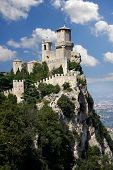 San Marino with Castle, Italy