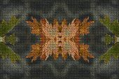 picture of gobelin  - Autumn leafs pattern - JPG