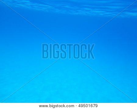 Underwater turquoise
