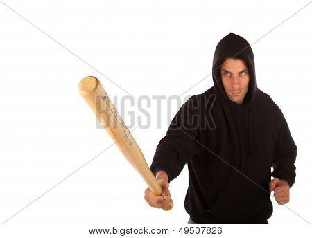 Hooligan With Bat