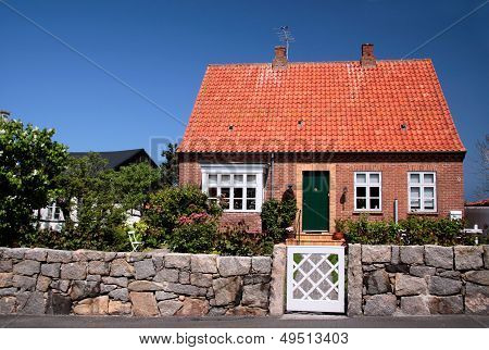 Idyllic Family House On Bornholm