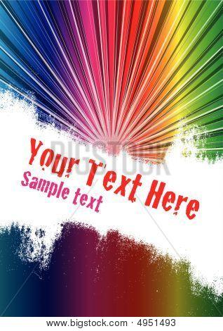 Spectrum Burst Background