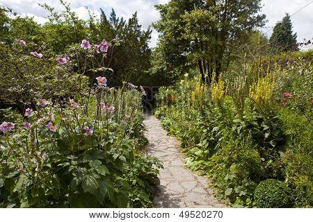 Chalice Well Gardens In Glastonbury.
