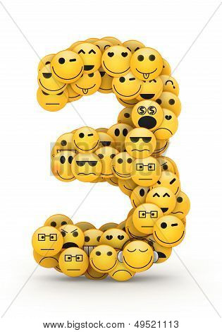 Emoticons number 3