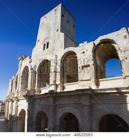Roman Amphitheater Of Arles