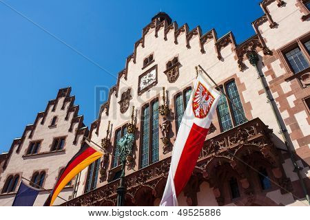 Town Hall Roemer Of Frankfurt