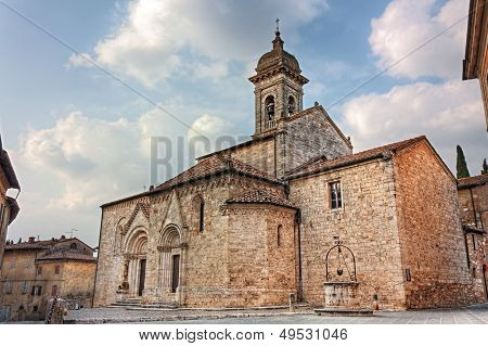 Cathedral Of San Quirico D'orcia