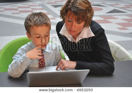 Young Guy Preparing For His Interview