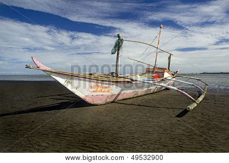 Philippine Outrigger Canoe