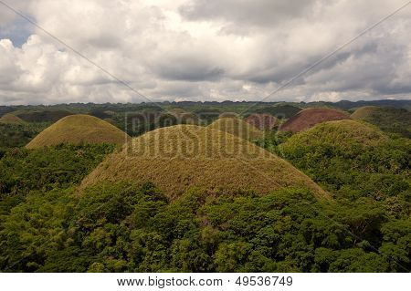Chocolate Hills of Bohol Philippines
