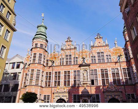 Big Armory In Gdansk, Poland
