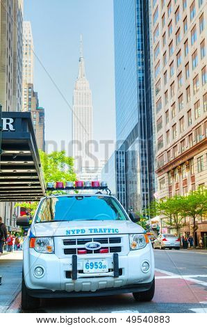 New York City Police Department (nypd) Patrol Car