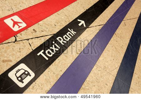 Towards taxi rank