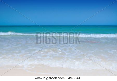 White Pristine Sandy Beach