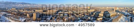 Panoramic View On Almaty
