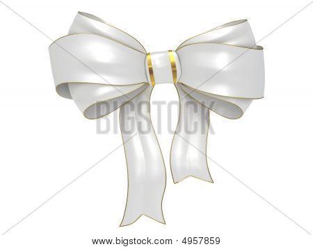 Bow Isolated On White Background