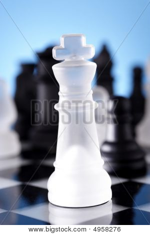 Gamemanship-Chess king