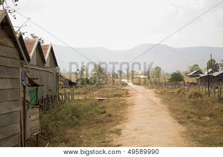 Dirt Road in Village