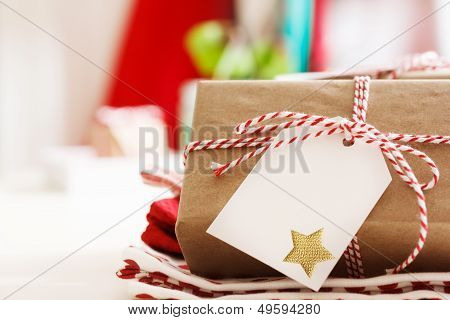 Handmade Present Boxes With Tags