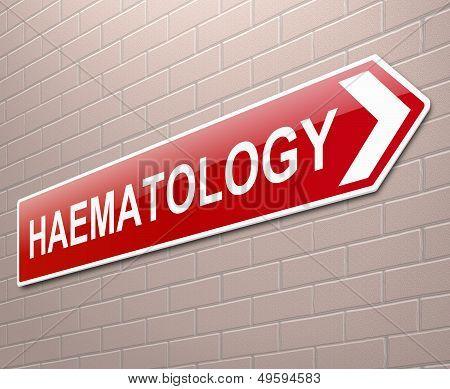 Haematology Concept.