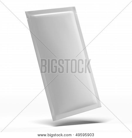 Long White Blank Foil Packaging
