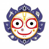 pic of lord krishna  - Jagannath - JPG