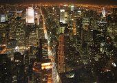 New York At Night poster