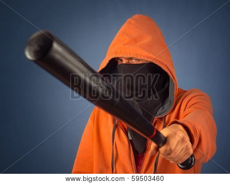 Man With Bat