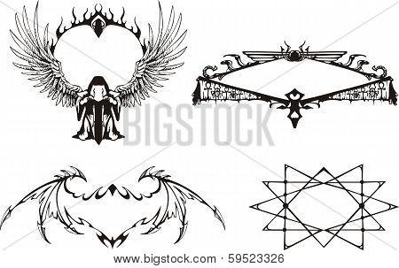 Decorative Mystical Frames