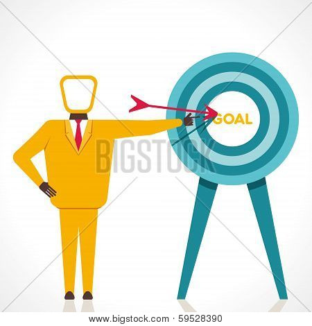 focus on your goal concept vector