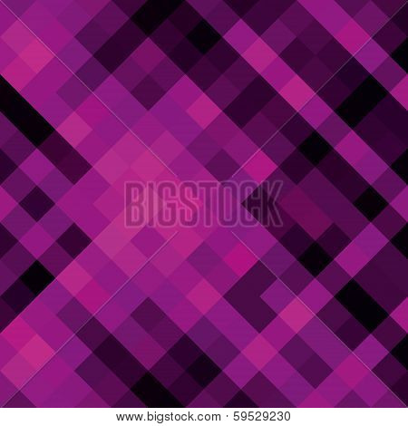 creative square pattern pink background vector