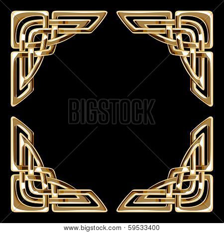 golden celtic corners