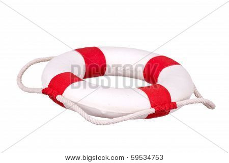 Life Bouy Isolated
