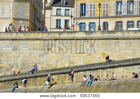 The Right Bank of the Seine