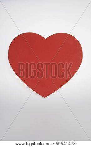 Red Heart Shape Chalkboard
