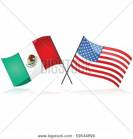 Mexico And The United States.mexico And The United States.mexico And The United States