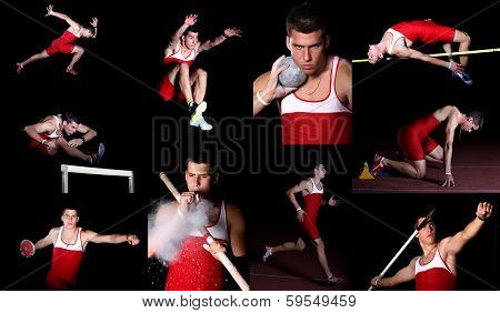 decathlon athlete