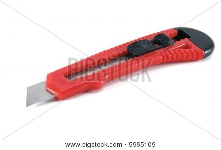 Red Box Cutter / Stanley Knife