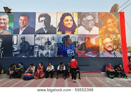 Visitors At Kolkata Book Fair - 2014