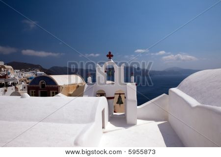 Church On Island Santorini