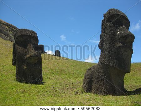 Moai Statues of Easter Island