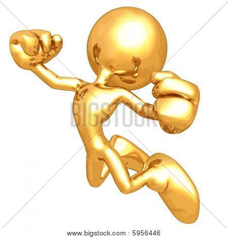 Mini Gold Guy