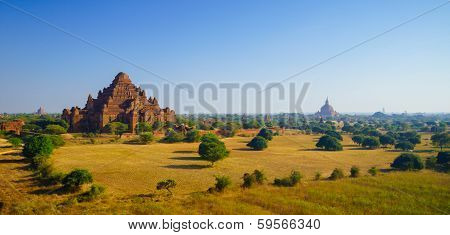 Dhammayangyi Temple At Sunrise, The Biggest Temple In Bagan, Myanmar