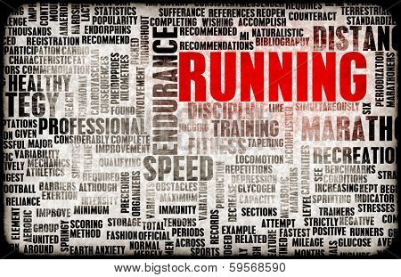 Running as a Endurance Fitness Hobby Sport