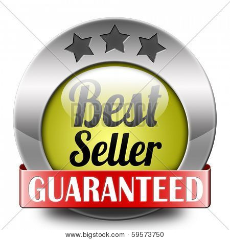 Bestseller label most popular sign popularity label or sticker for best seller or market leader and top product or rating in the charts icon or button