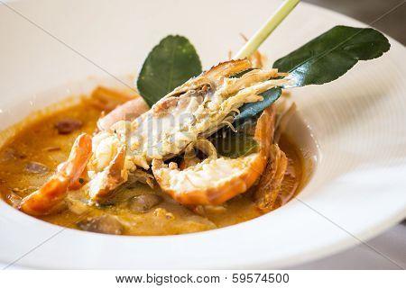 Thailand Spicy Lemon Grass Soup