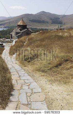 The church of Holy Mary in peninsula Sevan