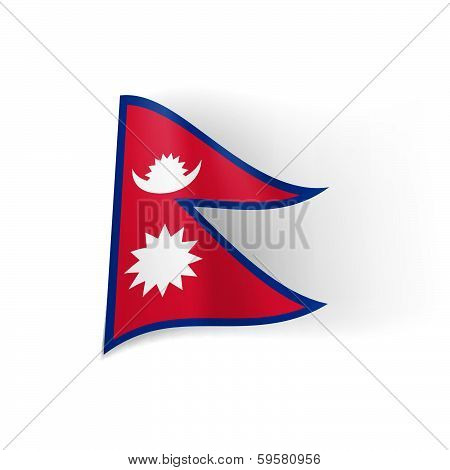 State flag of Nepal