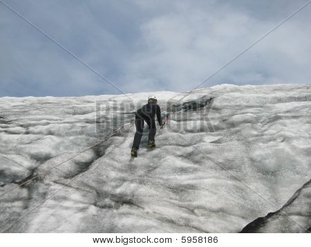 Icelandic Ice Climbing